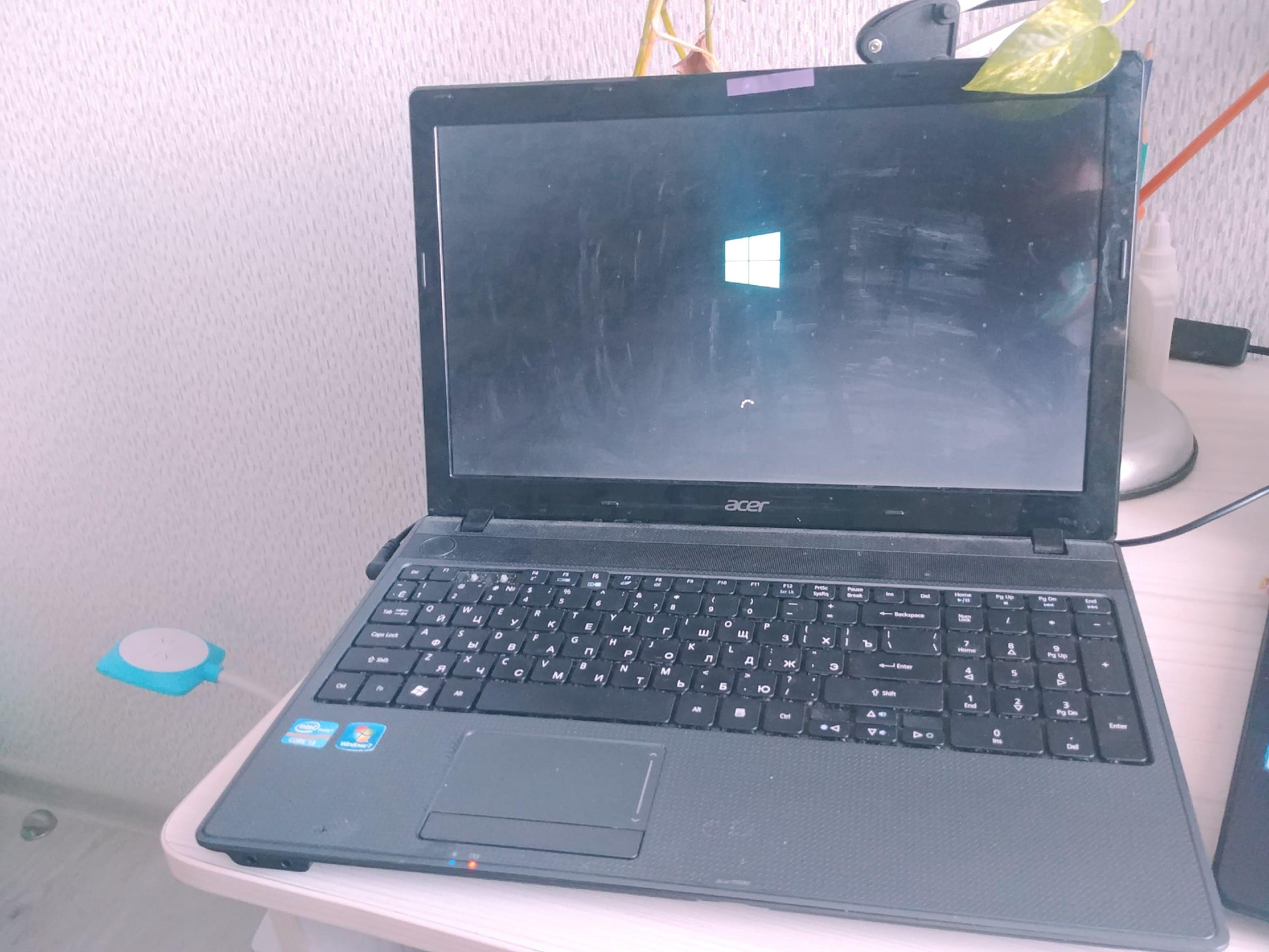 Настройка ноутбука, Установка Windows 10